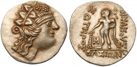 Eastern Europe, Imitating Thasos. Late 2nd-1st centuries BC. Silver Tetradrachm (16.51 g). EF