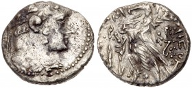 Phoenicia, Tyre. Silver 1/2 Shekel (6.83 g), ca. 126/5 BC-AD 65/6. VG
