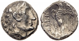 Judaea, Ptolemaic occupation. Ptolemy II Philadelphos. Silver Unit (1.49 g), 285-246 BCE. VF