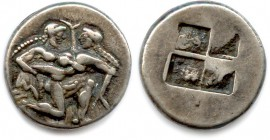 THRACIAN ISLANDS  - THASOS 550-463 B.C Stater