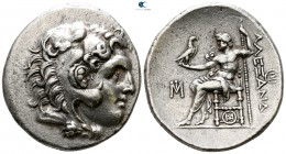 Ionia. Miletos  circa 295-275 BC. In the name and types of Alexander III of Macedon. Tetradrachm AR