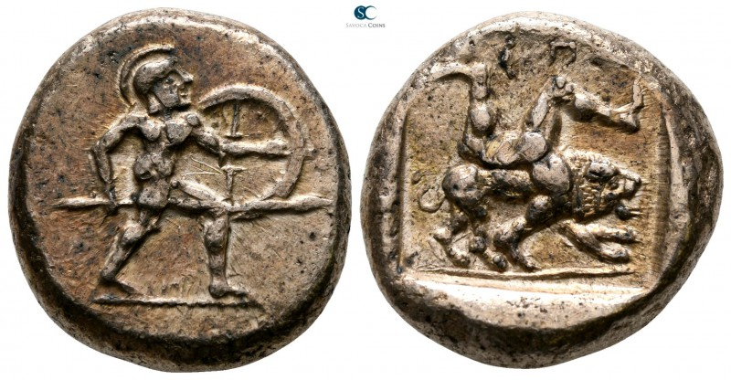 Pamphylia. Aspendos circa 465-430 BC. 