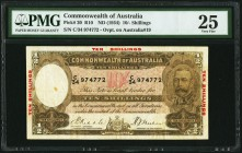Australia Commonwealth Bank of Australia 10 Shillings ND (1934) Pick 20 R10 PMG Very Fine 25.   HID09801242017
