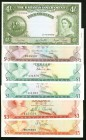 A Half Dozen Notes from the Bahamas. About Uncirculated or Better.   HID09801242017