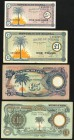 Biafra Bank of Biafra 5 Shilling; £1 ND (1967) Pick 1; 2; £5; £10 ND (1968-69) Pick 6a; 7a Very Fine or Better.   HID09801242017