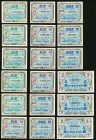 Thirty Examples of Allied Military Currency Issued for Japan. About Uncirculated to Choice Crisp Uncirculated.   HID09801242017