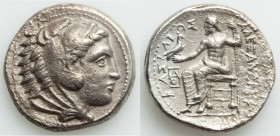 MACEDONIAN KINGDOM. Alexander III the Great (336-323 BC). AR tetradrachm (26mm, 16.30 gm, 12h). VF. Late lifetime or early posthumous issue of Amphipo...