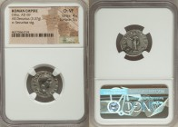Otho (AD 69). AR denarius (19mm, 3.37 gm, 6h). NGC Choice VF 4/5 - 5/5. Rome, January-April AD 69. IMP M OTHO CAESAR AVG TR P, bare, bewigged head of ...