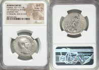 Hadrian (AD 117-138). AR cistophorus (30mm, 9.93 gm, 7h). NGC Choice Fine 4/5 - 3/5. Uncertain mint, after AD 128. AVGVSTVS-HADPIANVS P P, bare head o...