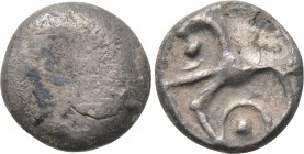 "CENTRAL EUROPE. Boii. Obol (Circa 50 BC). ""Roseldorf"" type. 