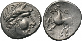 "EASTERN EUROPE. Imitations of Philip II of Macedon. Tetradrachm (3rd-2nd centuries BC). ""Kugelwange"" type. 