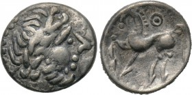"EASTERN EUROPE. Imitations of Philip II of Macedon. Drachm (3rd-2nd centuries BC). ""Kugelwange"" type. 