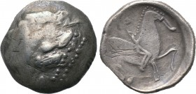 "EASTERN EUROPE. Imitations of Philip II of Macedon. Tetradrachm (3rd-2nd centuries BC). ""Kinnlos"" (Chinless) type. 