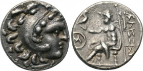 ASIA MINOR. Galatians? Imitations of Alexander III 'the Great' of Macedon (3rd-2nd centuries BC). Drachm. 