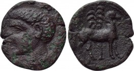IBERIA. Punic Iberia. Unit (Circa 237-209 BC). 