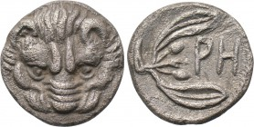 BRUTTIUM. Rhegion. Litra (Circa 425-420 BC). 