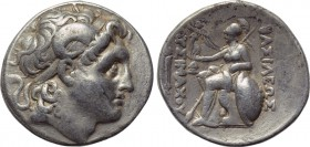 KINGS OF THRACE. Lysimachos (305-281 BC). Tetradrachm. Lampsakos. 