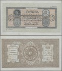 Afghanistan: 10 Afghanis SH 1307 (1928) with watermark, P.9b, tiny spot at lower margin, otherwise perfect. Condition: aUNC/UNC