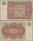 Afghanistan: 5 Afghanis ND(1936), P.16, small tear at center, some folds, Condition: F/F+