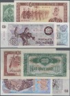 Albania: Huge lot with 25 Banknotes series 1 - 1000 Leke 1957-ND(1992), P.28a-50a, all in aUNC/UNC condition. (25 pcs.)