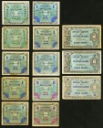 Nineteen Examples of Allied Military Currency from Germany. Very Good to Crisp Uncirculated.   HID09801242017