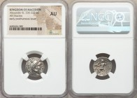 MACEDONIAN KINGDOM. Alexander III the Great (336-323 BC). AR drachm (18mm, 12h). NGC AU. Posthumous issue of Magnesia, under Lysimachus, ca. 301-299 B...