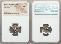 MACEDONIAN KINGDOM. Alexander III the Great (336-323 BC). AR drachm. NGC VF. Early posthumous issue of 'Babylon', ca. 323-317 BC. Head of Heracles rig...