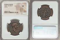 Galba (AD 68-69). AE as (29mm, 6h). NGC VF. Rome, late summer AD 68. IMP SER SVLP GALBA-CAES AVG TR P, laureate head of Galba right / LIBERTAS-PVBLICA...