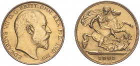 Edward VII (1902-1910). Half Sovereign, 1902, matt proof. (M.505A, S.3974A). Small edge nick and light hairlines otherwise about as struck.