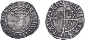 Henry VIII (1509-1547), Halfgroat, Canterbury, Archbishop Warham, WA by shield, mm. not clear (N.1802, S.2343). Some surface marks otherwise about Ver...