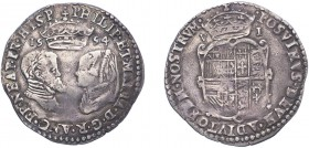 Philip & Mary (1554-1558), Sixpence, 1554, full titles. (N.1970, S.2505). Light trace of crease otherwise Very Fine or better with good portraits.