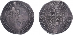 Charles I (1625-1649) Halfcrown, Tower mint under Parliament, mm sun. (N.2213, S.2778). Fine.