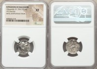 MACEDONIAN KINGDOM. Alexander III the Great (336-323 BC). AR drachm (17mm, 11h). NGC XF. Posthumous issue of uncertain mint in Greece or Macedonia, ca...