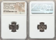 L. Cornelius Sulla as Imperator and L. Manlius Torquatus as Proquaestor (82 BC). AR denarius (16mm, 3.87 gm, 2h). NGC Choice AU S 5/5 - 5/5. Military ...