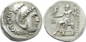 KINGS OF MACEDON. Alexander III 'the Great' (336-323 BC). Tetradrachm. Perge. Dated CY 18 (204/3 BC).