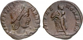 Roman - Issues of the Three Sons of Costantine I in Honour of Theodora