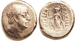 "Ariobarzanes I, ""the Zany,"" 96-63 BC, Drachm, Head r/ Athena stg l, F-VF/F, well centered on small flan, decent metal with lt tone, portrait quite str..."