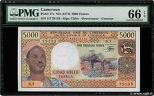 Country : CAMEROON 