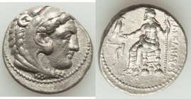 MACEDONIAN KINGDOM. Alexander III the Great (336-323 BC). AR tetradrachm (26mm, 16.88 gm, 1h). XF, porosity. Lifetime issue of Tarsus, ca. 327-323 BC....
