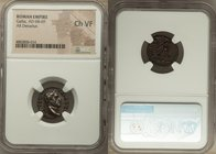 Galba (July AD 68-January AD 69). AR denarius (18mm, 6h). NGC Choice VF. Rome. IMP SER-GALBA AVG, laureate head of Galba right / SALVS GEN-HVMANI, fem...