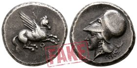 "Corinthia. Corinth circa 400-338 BC. SOLD AS SEEN; MODERN REPLICA / NO RETURN !. Electrotype ""Stater"""