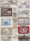 Germany Weimar Lot of Notgelds 1918-1923