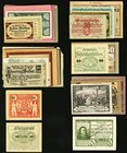 Austria Notgeld Group o 196 Examples Choice About Uncirculated-Crisp Uncirculated.   HID09801242017