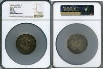 Leopold 2 Taler ND (1626) MS62 NGC, Hall mint, KM639, Dav-3331. 56.65gm. Boldly detailed throughout and exhibiting light silver tone over lustrous fie...