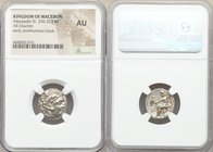 MACEDONIAN KINGDOM. Alexander III the Great (336-323 BC). AR drachm (17mm, 11h). NGC AU. Posthumous issue of Abydus, ca. 310-301 BC. Head of Heracles ...