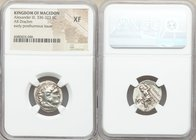 MACEDONIAN KINGDOM. Alexander III the Great (336-323 BC). AR drachm (18mm, 10h). NGC XF. Posthumous issue of Mylasa?, ca. 310-300 BC. Head of Heracles...