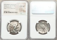PTOLEMAIC EGYPT. Ptolemy III Euergetes (247/6-221/20 BC). AR tetradrachm (28mm, 12h). NGC Choice VF, scratches. Joppa, dated Year 2 (246/5 BC). Diadem...