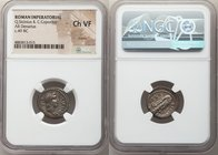 Q. Sicinius and C. Coponius (ca. 49 BC). AR denarius (18mm, 2h). NGC Choice VF, marks. Military mint traveling with Pompey the Great. Q•SICINIVS-III•V...