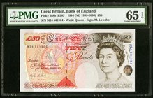 Great Britain Bank of England 50 Pounds 1994 (ND 1999-2006) Pick 388b PMG Gem Uncirculated 65 EPQ.   HID09801242017
