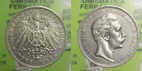 Germania - 3 Marchi 1908 - Ag